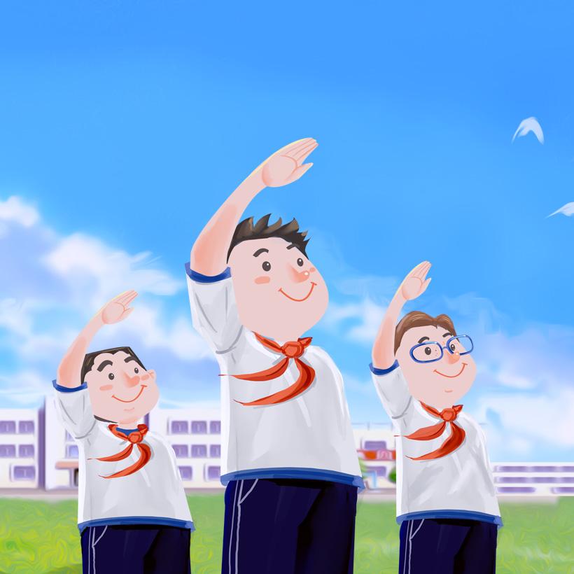 广州网站建设-大良实验小学系统开发案例说明