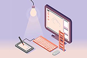 渐变背景的网站设计,是不一样的视觉享受!